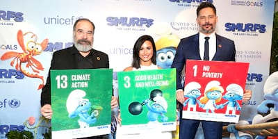 U.N., Unicef and Talents from 'Smurfs: The Lost Village' Team UP to Celebrate Int'l. Day of Happiness with Event in Support of the Sustainable Dev't. Goals