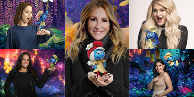 Smurfette Joined by New Female Characters in Smurfs: The Lost Village