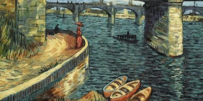 Vincent van Gogh's Life and Death Come Alive to Cinema Art thru His Oil Paintings