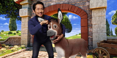 Steven Yeun is Bo, a Small Donkey with Big Dreams in The Star
