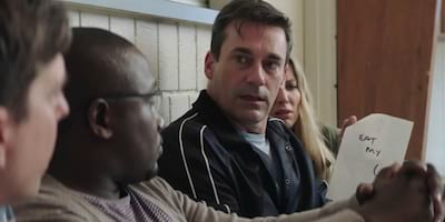 Jon Hamm Plays Corporate Man Who's Mad About Tag