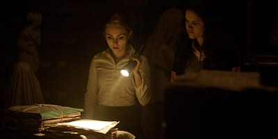 Supernatural Horror Film 'Down a Dark Hall' is in Cinemas Today!