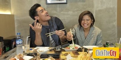 Interview with the Hungry: Xian Lim and Louise Delos Reyes on Hanggang Kailan?, favorite line in the movie and more!