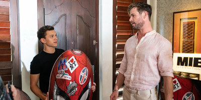 Chris Hemsworth and Tom Holland Reunites in a Hilarious Crossover Video