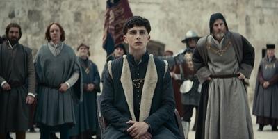 WATCH: Timothée Chalamet is King Henry V in Netflix' 'The King'