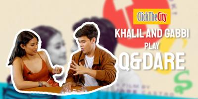 Q&Dare: Khalil Ramos and Gabbi Garcia