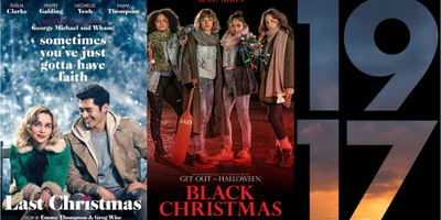 LOOK: New Posters for 'Last Christmas,' 'Black Christmas,' and '1917'