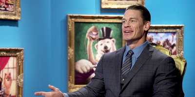 WWE's John Cena is The Fuzzy Polar Bear Yoshi in 'Dolittle'