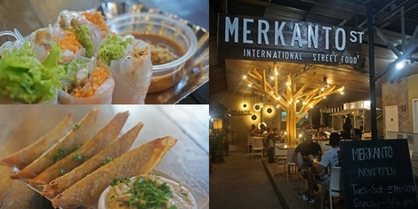 15 International Street Food Finds under P180 at the newest food park -- Merkanto, UP Village