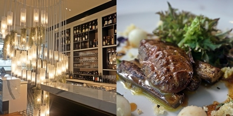 FLAME: A modern European restaurant offers guests a breathtaking view of Manila's skyline
