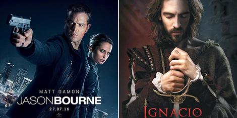 New Movies This Week: Jason Bourne, Ignacio de Loyola and more!