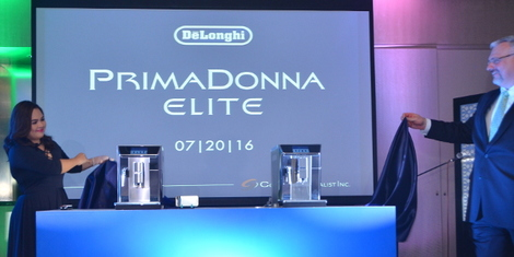 Concept Specialist Inc. Was the First in Asia to Launch De'Longhi's PrimaDonna Elite