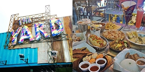 Man vs Food: A Guide to The Yard at Xavierville's over 30 Food Stalls