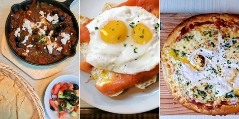 Wake Up Your Palate with Chaplin's All Day Breakfast with Medditerranean Flavors