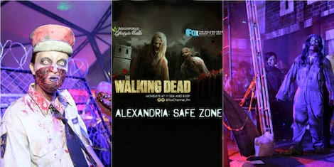 The Walking Dead Haunted Horror House: Alexandria Safe Zone