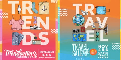 Travel Deals and Shopping Bargains at the Annual Trendsetter's Fashion & Travel Sale Fair