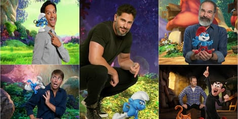 Meet the Guys of Smurfs: The Lost Village