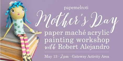Papemelroti holds the first ever Mother's Day Workshop