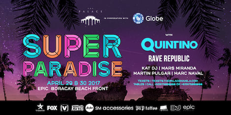 Super Paradise: Boracay Labor Day Weekend