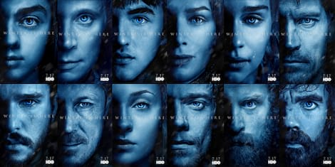 New Game of Thrones Season 7 Character Posters Unveiled