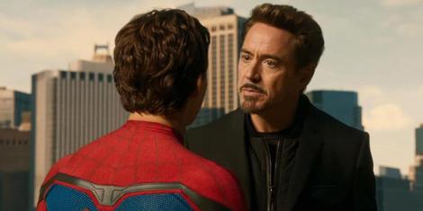 Tony Stark Mentors Peter Parker in Spider-Man: Homecoming