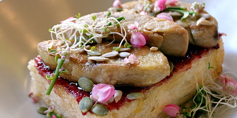 Eat of the Week: This Indulgent Breakfast of Foie Gras on Toast at The Sunny Side Cafe
