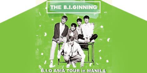 B.I.G Asia Tour in Manila
