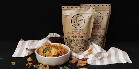 Best-Selling Salted Egg Yolk Snacks from Singapore Launches In The Philippines!
