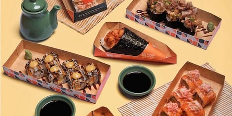 Weekends are for Unlimited Sushi at Sushi Nori BGC: Roll-All-You-Can for P599 This October!
