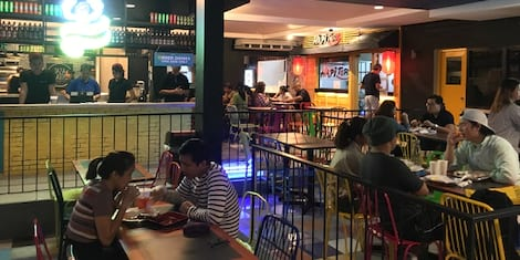 Now Open: Malingap Central Food Hall, 11 Stalls Now Ready to Feed You in Teachers Village, QC