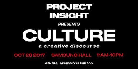 Project Insight presents Culture