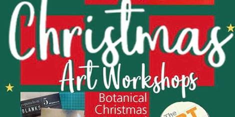 Christmas Art Workshops with Papemelroti's Robert Alejandro