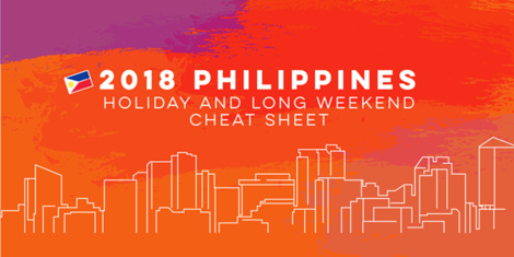 Your Ultimate Cheat Sheet for the 2018 Holidays and Long Weekends