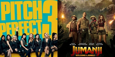 New Movies This Week: Pitch Perfect 3, Jumanji: Welcome to the Jungle and more!