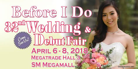 Before I Do - 32nd Wedding and Debut Fair
