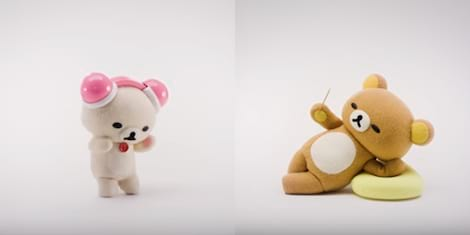 WATCH: The First Teaser to Netflix' First Stop Motion Animated Series 'Rilakkuma and Kaoru'