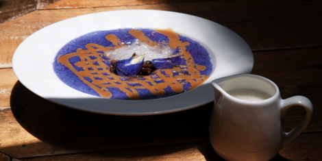 Eat of the Week: Flossom Kitchen + Cafe's Ube Champorado will Make Any Rainy Day Brighter