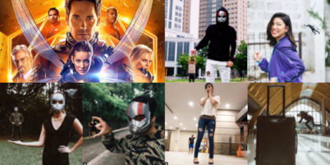 Marvel Studios' Ant-Man and The Wasp Attracts Big Weekend Crowd of Moviegoers Filipino celebrities share their own renditions inspired by the film
