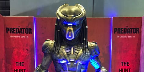 The Greatest Movie Monster The Predator sets Foot in History Con 2018