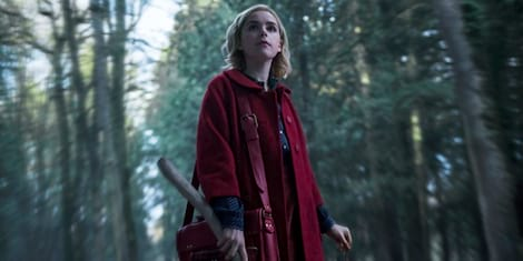 Here's Your First Look at Netflix' 'Chilling Adventures of Sabrina'