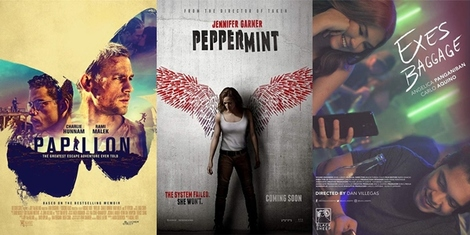 New Movies This Week: Papillon, Peppermint and more!