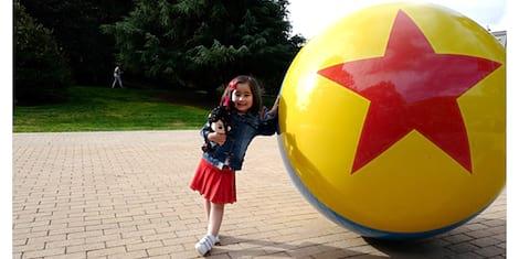 Scarlet Snow Belo Goes Behind-The-Scenes at Disney