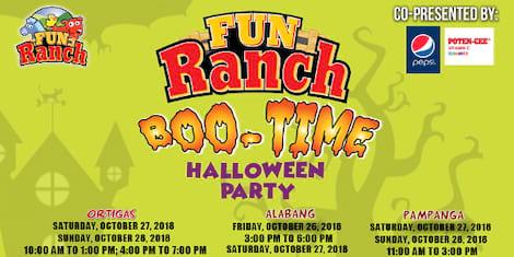 Halloween Boo-Time! Bash at Fun Ranch
