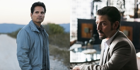 Showrunner Eric Newman, actors Diego Luna and Michael Peña on 'Narcos: Mexico' and the War on Drugs