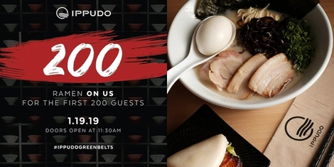 Ippudo Opens at Greenbelt 5 and They're Giving Away Bowls of Ramen!