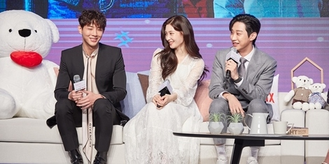 Q&A with Jisoo, Jinyoung, Choi Ri and Kang Tae-oh on Netflix's First K-drama Rom-Com