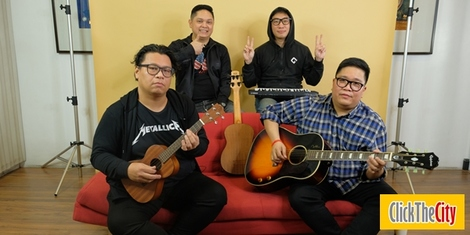 City Sessions: Itchyworms perform 'Gusto Ko Lamang Sa Buhay' and 'Di Na Muli'