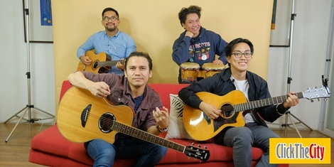 City Sessions: Sponge Cola performing 'Kunwari' and 'Gemini'