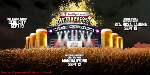 san miguel oktoberfest 2018 schedule of events