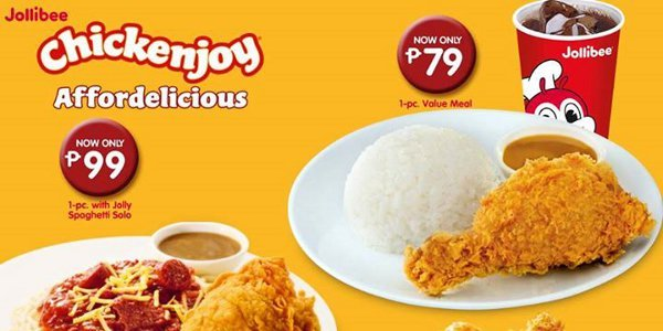 Jollibee Chickenjoy Made More Affordelicious Clickthecity Hot Off